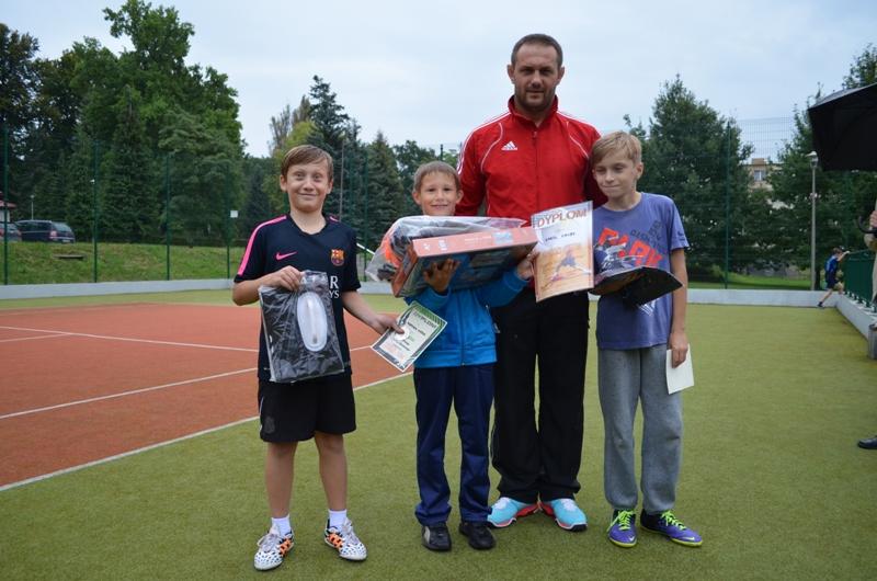 Turniej Tenisa Ziemnego kat. Dzieci 11-09-2014
