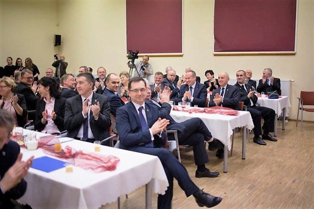 Spotkanie Noworoczne Samorządowców wKrośnicach