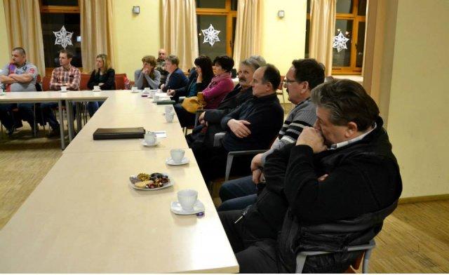 Wójt Andrzej Biały spotkał się zsołtysami