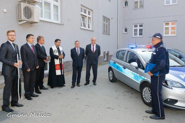 Nowe samochody dla Komendy Powiatowej Policji wMiliczu
