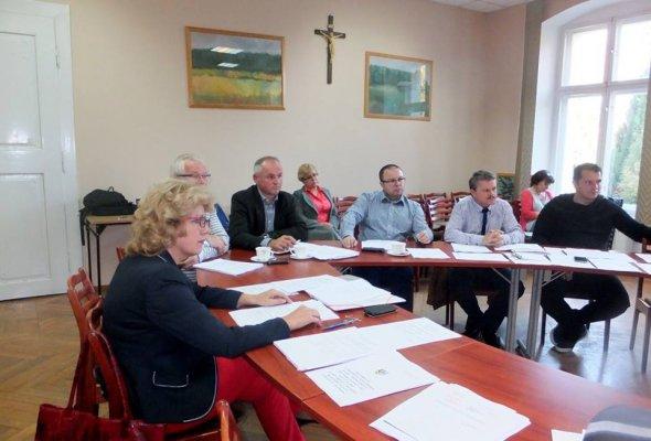 Wspólne posiedzenie komisji Rady Gminy wKrośnicach