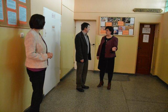 Wójt spotkał się zdyrektorami szkół