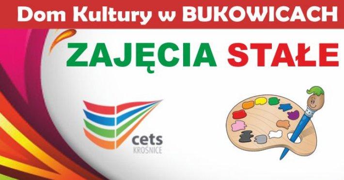 Zajęcia wDomu Kultury wBukowicach