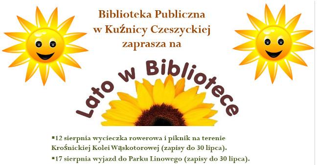 Lato wbibliotece wKuźnicy Czeszyckiej