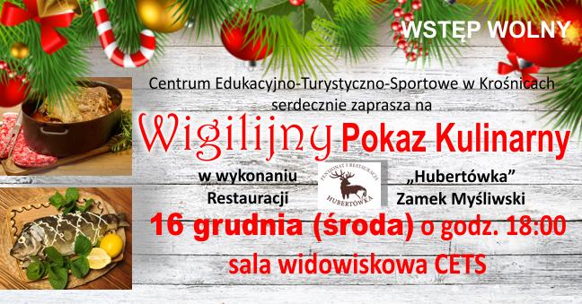 Wigilijny Pokaz Kulinarny wCETS