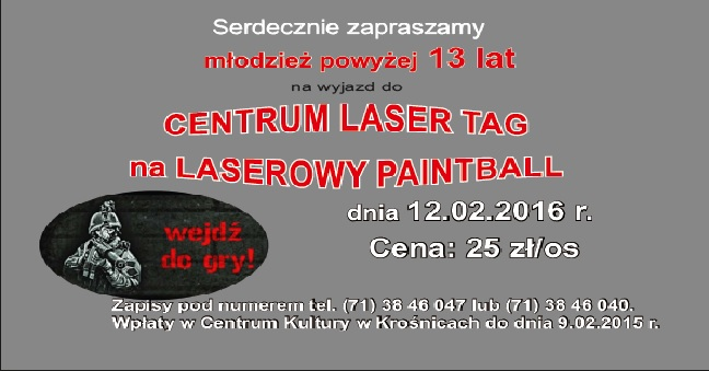 Laserowy paintball