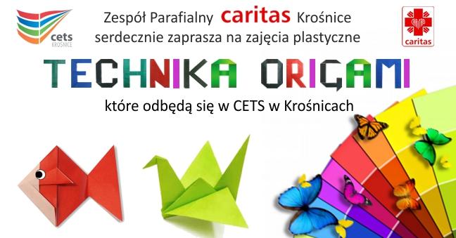 Zajęcia plastyczne - technika origami