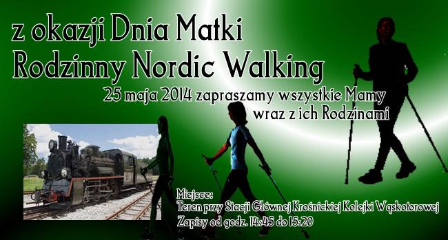 Impreza zokazji Dnia Matki - Rodzinny Nordic Walking