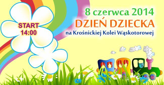 Dzień Dziecka na Krośnickiej Kolei Wąskotorowej