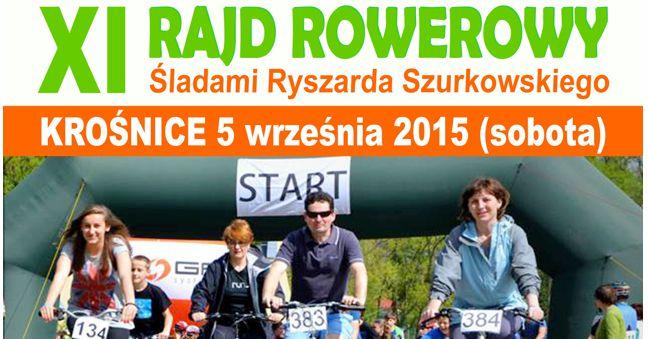 XI Rajd Rowerowy - Śladami Ryszarda Szurkowskiego
