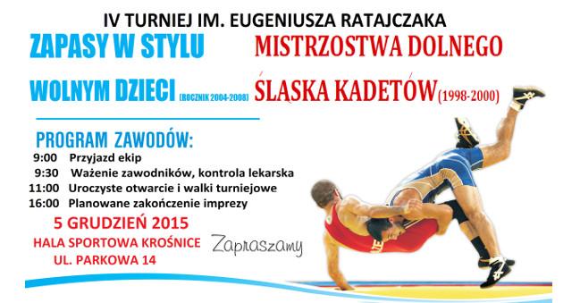 Mistrzostwa Dolnego Śląska wzapasach