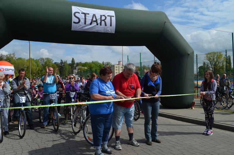 VIII rajd rowerowy ˝Śladami Ryszarda Szurkowskiego˝ 26-04-2014