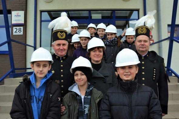 Uczniowie krośnickiej szkoły odwiedzili górników