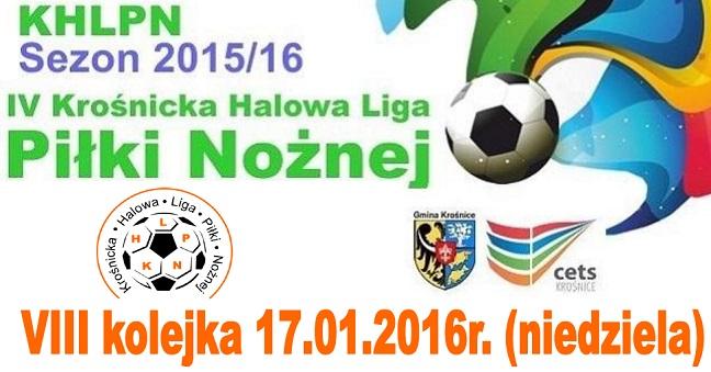 VIII kolejka KHLPN 2015/16