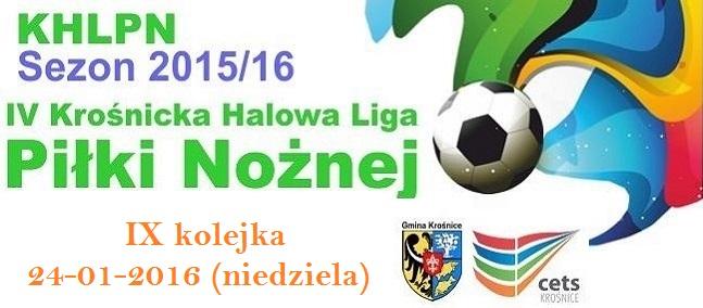 IX kolejka KHLPN 2015/16
