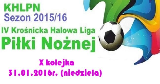 X kolejka KHLPN 2015/16