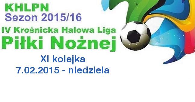 XI kolejka KHLPN 2015/16