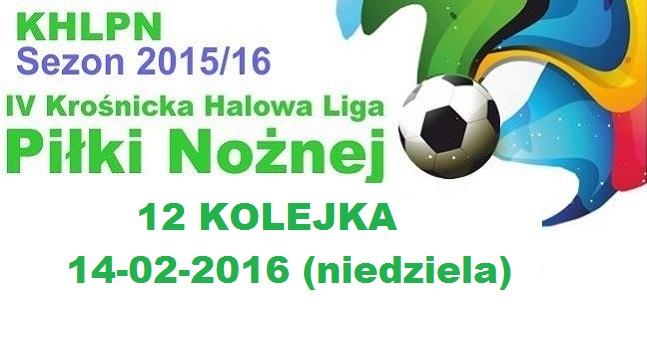 XII kolejka KHLPN 2015/16